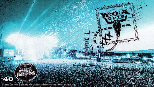 Faster, Harder, Louder – Philatelie zum 30. Wacken-Festival